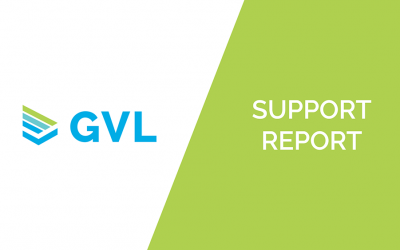Support Report from GVL Customer Success – August 2021